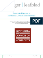 Minnesota Council of Nonprofits - Associate Director - Position Profile