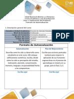 9- Formato de Autoevaluación