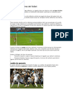 Técnicas Defensivas Del Futbol