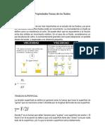 Propiedades Físicas de Los Fluidos
