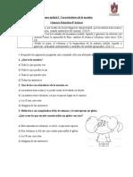 Guía de apoyo unidad I  Características de la materia Ciencias 4° básicos