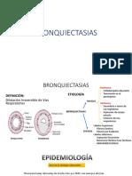 Bronquiectasias y Absesos Pulmonares