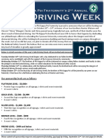 Safe Driving Week Sponsorship Letter