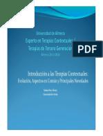 Ppt 2 Marino Perez Introducción a Las Terapias Contextuales