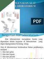 Pengenalan Alat Lab
