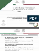 Presentación Programas Consulado de Mexico