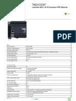 PLC Controllers TM221CE24T