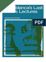 Capablanca,.JR. Capablanca's Last Chess Lectures