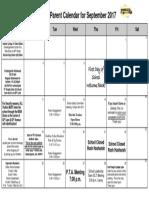 september 2017 parent calendar