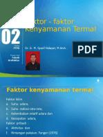 M-03 Faktor Kenyamanan Termal