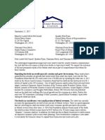 FBC Tax Reform Estate Tax Repeal Letter