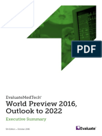 EvaluateMedTech World Preview 2016 Executive Summary ES