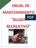Manual de Mantenimiento Buggy
