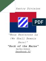 3rd Infantry Division Handbook V2
