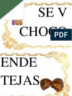 Letrero de Doña Chocotejeruncia