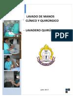 Guia Lavado Mano Clinico y Quirurgico