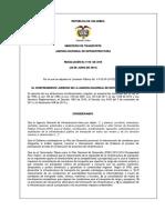 Acta Administ Resolucion de Adjudicacion 1110 de 30.06.15