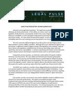 Legal Pulse 2q 2017 Newsletter