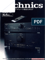 Technics Catalogus 1989 4 JP