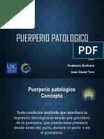 puerperio patologico 2017