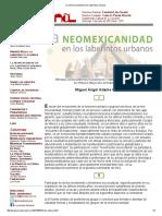 La Neomexicanidad en Los Laberintos Urbanos