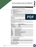 20130814 12449 ProMinent Lista de Referencia de Fluidos Quimicos 2013
