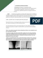 La Historia Del Petroleo en Mexico