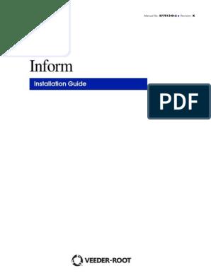 Inform Installation Guide Pdf Telecommunications