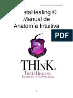 Thetahealing Manual de Anatomia Intuitiv