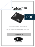 Cyclone micro user manual