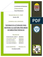 Informe Actividades Ebooks