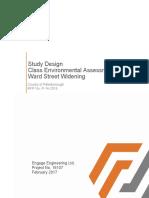 Ward Street Widening Study Design