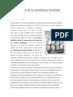 Fundacion de La Santisima Trinidad