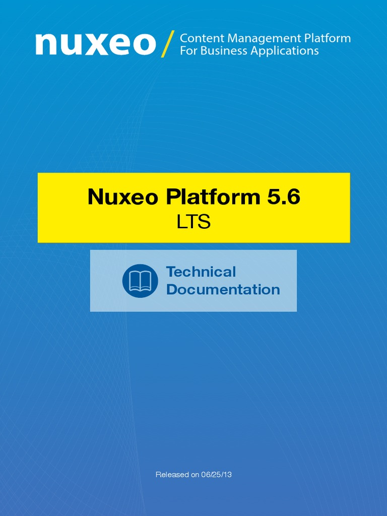 Nuxeo Platform 56 Technical Documentation Gnu Component