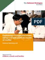 Explaining Change Processes