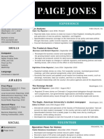 Paige Jones Resume