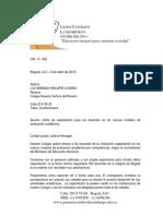 CARTA COMERCIAL SEGÚN LA GTC 185