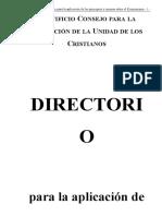Directorio de Ecumenismo (1)