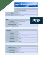 Motherboard Information