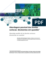 Abordagem Possível Das Favelas Cariocas_dicotomias Em Questão
