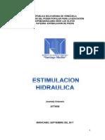 ESTIMULACION HIDRAULICA
