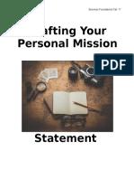 personalmissionstatement brainstorm