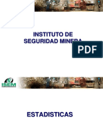 Estadísticas de accidentes en minería peruana