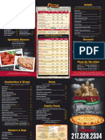 Rosatis Urbana Menu Jan 2015