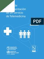 Marco de Implementación de Un Servicio de Telemedicina
