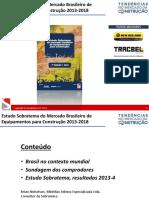 Sobratema 2013 Estudo de Mercado Brian v.3 Projeção