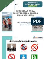 Seguridad en la Construcción - G050