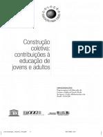 Construçoes Coletivas Educaçao Da Eja