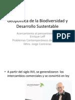 Geopolítica de la Biodiversidad y Desarrollo Sustentable