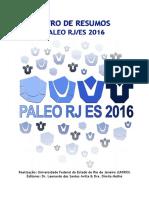 Livro de Resumos Paleo/RJ 2016
